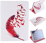 Red Feather Design PU Full Body Case with Stand for iPad mini3 mini2 mini