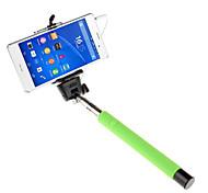 mowto z01 Hand Selfie Stange Einbeinstativ für GOPRO HERO&Auslöser für ios / android Handys -grün