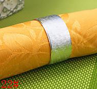 20mmiron matte eiförmigen napkinrings