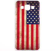 American Flag Pattern PC Hard Case for Samsung Galaxy A5