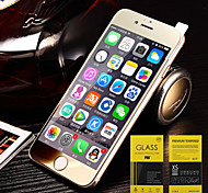 Colours Electroplate Glass Screen Protectors for iPhone 6