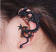 Punk  As Picture Alloy Hoop Earrings(As Picture) (1 Pc)