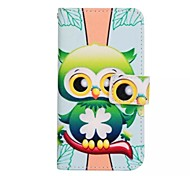 PU Leather Graphic Full Body Cases for Samsung Galaxy A7