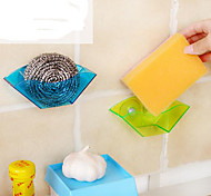 Sucker Sink Drain Frame / Multi-Functional Stand/Sponge Stand (Color Random)