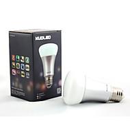 MORSEN Lâmpada de LED Smart Regulável/Controle Remoto/Decorativa E26/E27 7 W 600 LM K Muda de Cor 1 pç AC 85-265 V