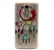 For LG Case Transparent Case Back Cover Case Dream Catcher Soft TPU LG