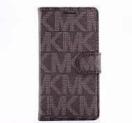 Costly Style Pattern PU Leather Full Body Case with Stand and Card Holder for Samsung Galaxy S6