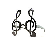PC Funny Musical Notes Geek& Chic Party Glasses