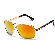 Cycling Men's 100% UV400 Polarized Alloy Aviator Sports Glasses(Assorted Color)