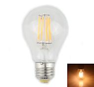 Lámparas LED de Filamento Decorativa Zweihnder CA E26/E27 8 W 8 LED de Alta Potencia 750 LM Blanco Cálido AC 85-265 V 1 pieza
