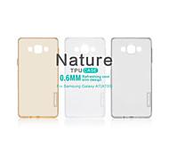 NILLKIN Nature Series Ultra Thin Transparent TPU Case for Galaxy A7(A700)