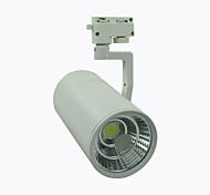 1 pieza 8A Lighting 30 W 1 COB 2700 LM Blanco Cálido/Blanco Fresco Rotatoria Decorativa Luces de Rail AC 100-240 V