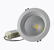 "8A Lighting 4"" 15W COB 1350LM 2800-6500K Warm White/Cool White Recessed LED Downlights AC85-265V"