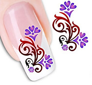 Water Transfer Printing Nail Stickers NO.1250