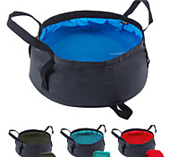 Outdoor Floding Basin Camping Hand-Basin Portable Tub Large Size
