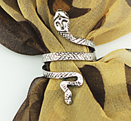 Vintage Metal Snake Silver Golden Ring (1piece)