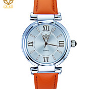 Women's Round Dial Calendar Function Casual Watch Leather Strap Quartz Watch Wrist Watch (Assorted Colors) Cool Watches Unique Watches