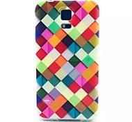 For Samsung Galaxy Case Pattern Case Back Cover Case Geometric Pattern TPU Samsung S5 Mini