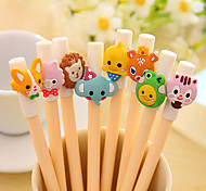 Cute/Multifunction Plastic Gel Pens(Random Color)