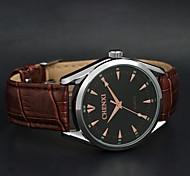 chenxi cinturino in pelle di alta qualità orologio al quarzo impermeabile