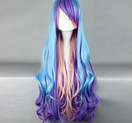 cosplay nouvelle perruque de longs cheveux bouclés