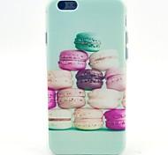Colorful Hamburg Pattern TPU Soft Case for iPhone 5C