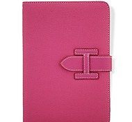 Wrist Strap Solid Color/Special Design PU Leather Smart Coversr for iPad 2/iPad 3/iPad 4 (Assorted Colors)