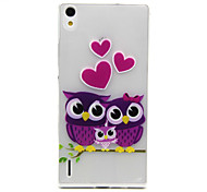 Back Cover Ultra-thin Owl TPU SoftHuawei Other