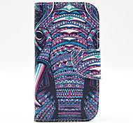 магия spider®elephant открытое покрытие кожаный чехол бумажник PU стенд с экрана протектор для Samsung Galaxy 9500
