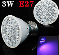 E27 3W 300LM 20Red and 16Blue SMD36 LED Bulbs for Flowering Plant Hydroponic System Led Grow Light (85-265V)