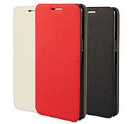 For Samsung Galaxy Case with Stand / Flip Case Full Body Case Solid Color PU Leather Samsung Grand Prime