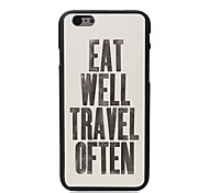 Eat Travel Design PC Hard Case for iPhone 5C