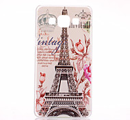 For Samsung Galaxy Case Pattern Case Back Cover Case Eiffel Tower PC Samsung A3