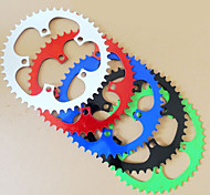 46 Dead Fly Bicycle Gear Teeth Removable Disk 2.5mm Steel Color Wheel Disc