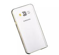 Galaxy A3 Case Aluminum Metal Frame for Samsung Galaxy A3/A3000/A3009 (Silver)
