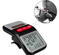 Solar LCD Display Multifunctional Bicycle Odometer  Bike Speed Counter