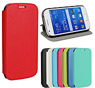 PU wallet ultra-thin voltage cell phone holster for Samsung Galaxy Ace 4 G357FZ(Assorted Color)