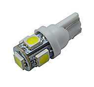 1W T10 Luces Decorativas 5 SMD 5050 70-90lm lm Blanco Fresco DC 12 V