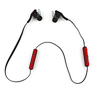 Wireless Bluetooth Stereo Earbuds Earphone  Headphones w/Microphone Sweat Proof Red for iPhone 6/6 Plus