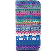 EFORCASE Like Tribe Painted PU Phone Case for Galaxy S6 edge S6 S5 S4 S3 S5 mini S4 mini S3 mini