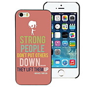 Strong People Design PC Hard Case for iPhone I4