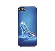 Glass Slippers Design Aluminum Hard Case for iPhone 5/5S