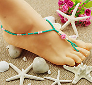 Fashion Small Roses Anklets