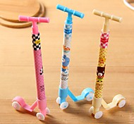 Cute Scooter Shaped Multi Color Ball-point Pen (Random Delivery)