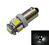 Luces Decorativas BA9S 1 W 5 SMD 5050 70-100lm LM Blanco Fresco DC 12 V