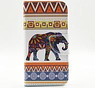 Elefantmuster die innen lackiert Karten für Samsung-Galaxie s6