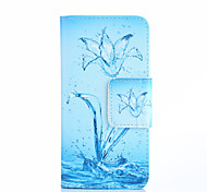 Narcissus Painted Blue Mobile Phone Case for Samsung Galaxy J1