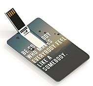 16gb ser usb flash drive cartão Design Alguém