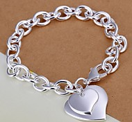 Charmes pour Bracelets 1pc,Argent Bracelet Plaqué argent Bijoux Femme