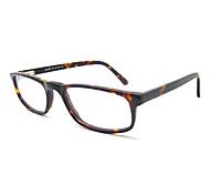 [Free Lenses] Women's Acetate Rectangle Full-Rim Fashion Prescription Eyeglasses